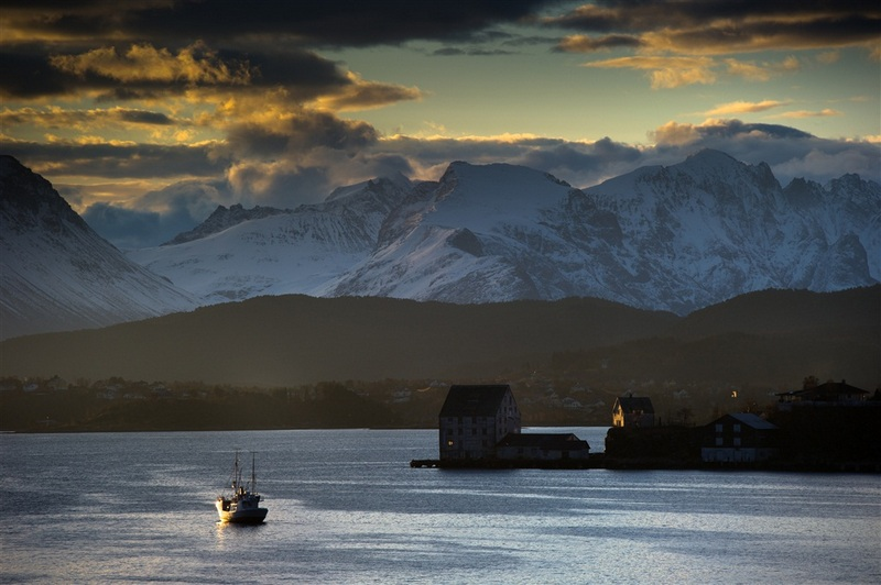 Moje volba: Západ slunce v Ålesundu