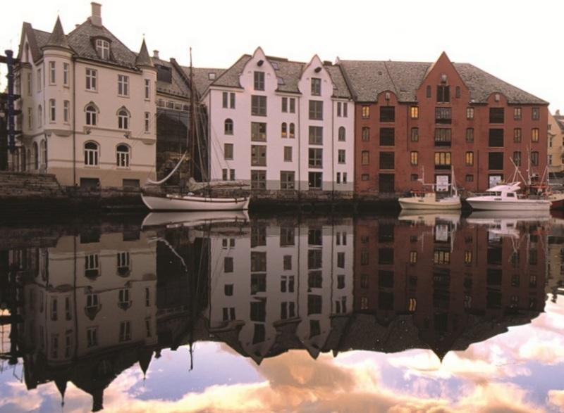 Moje volba: Odrazy města Ålesund
