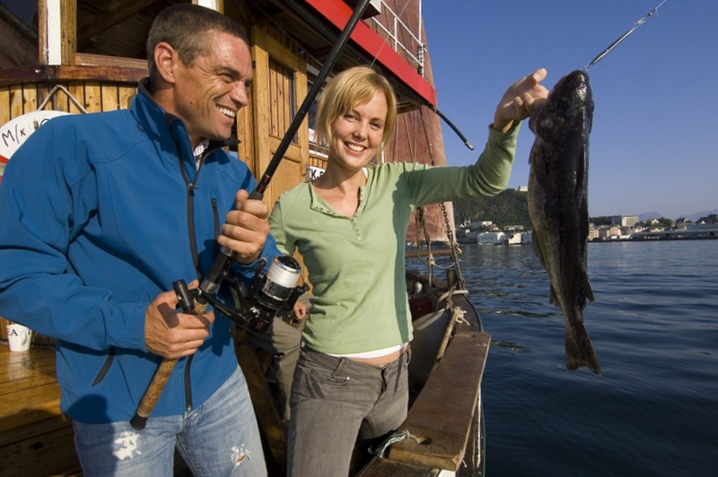 Moje volba: Úspěšní lovci ryb u Ålesundu
