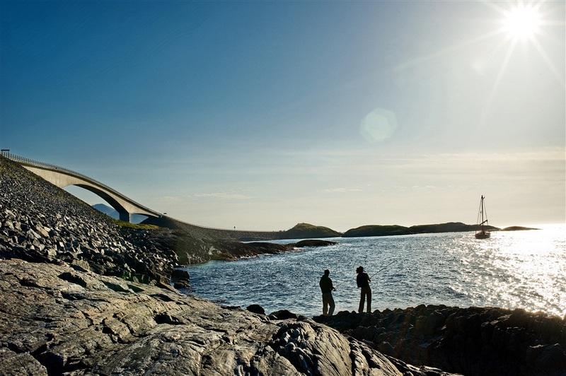 Moje volba: Rybaření u cesty Atlanterhavsveien