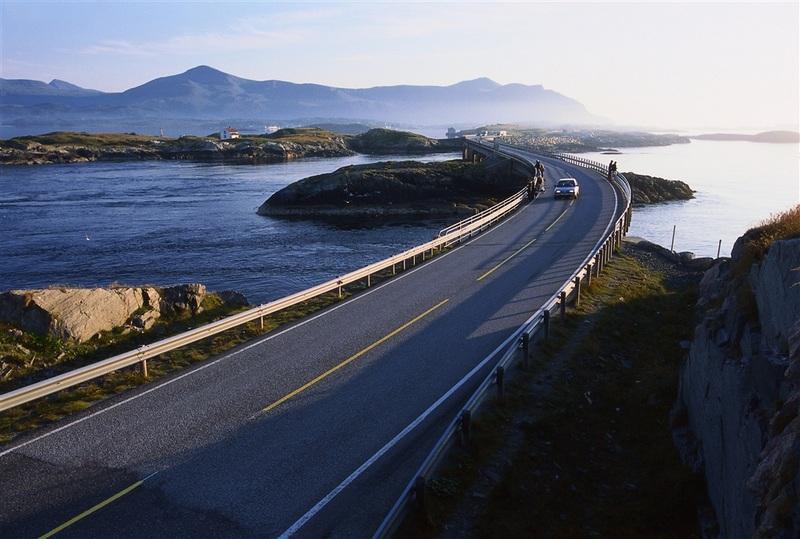 Moje volba: Cesta Atlantického oceánu u Kristiansundu