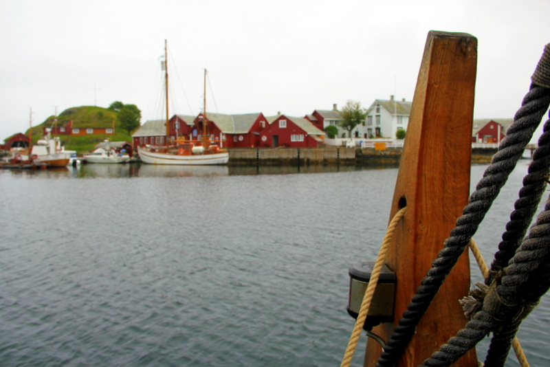 Moje volba: Vigingskou lodí na ostrůvek Håholmen