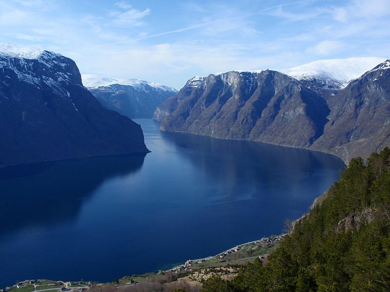 Moje volba: Aurlandfjorden