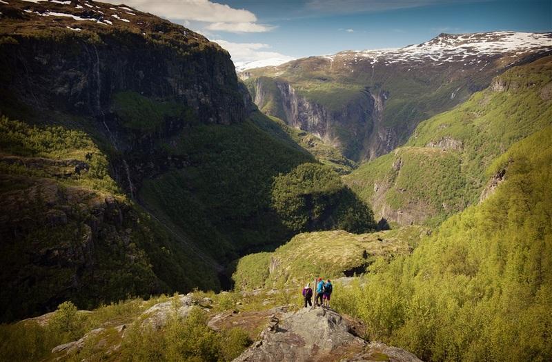 Moje volba: Na turistické stezce v údolí Aurland