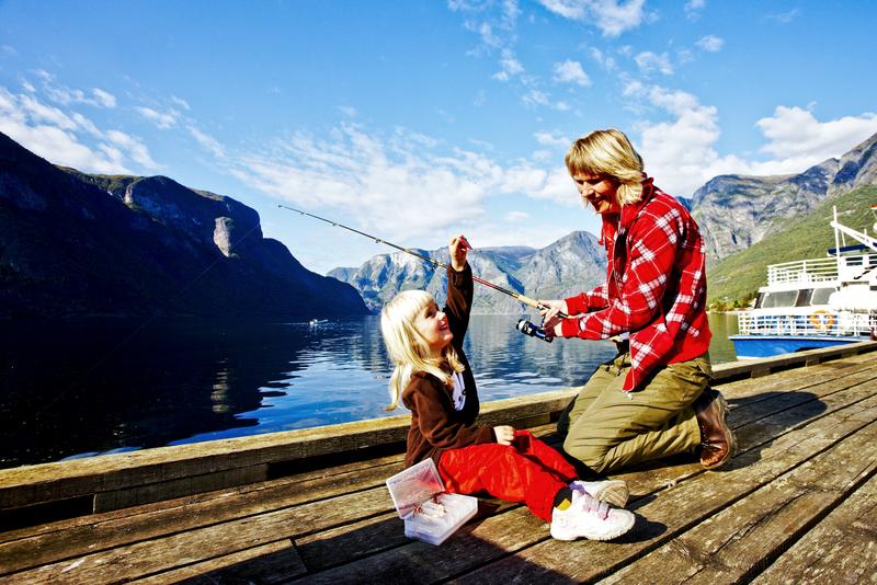 Moje volba: Rybaření u fjordu