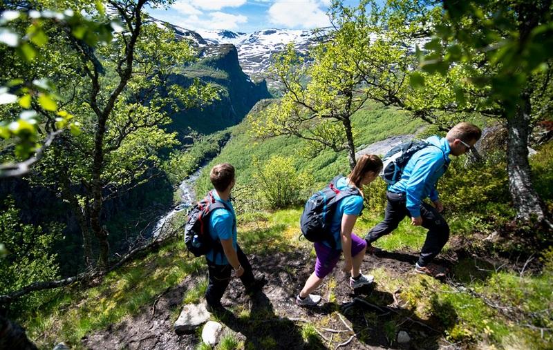 Moje volba: Túra nad Aurlandfjordem
