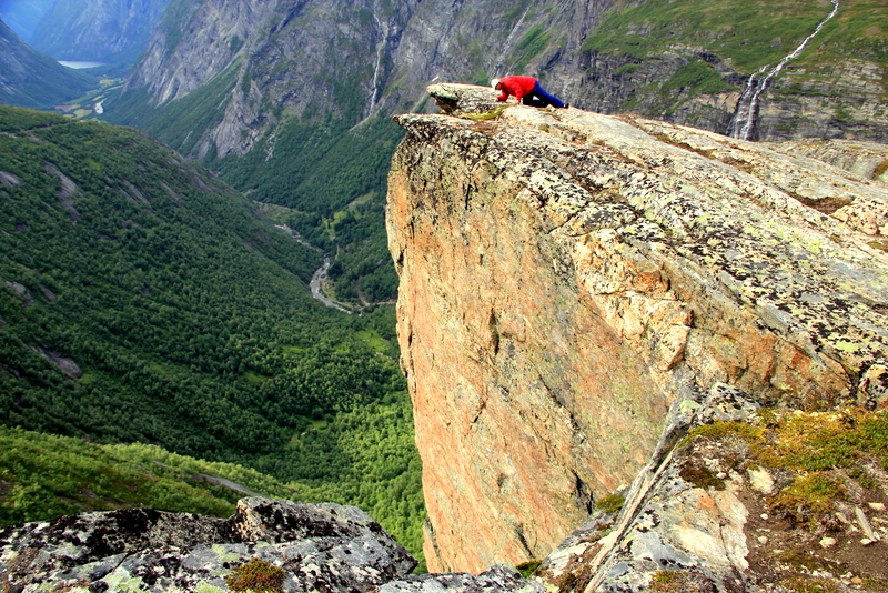 Moje volba: Vyhlídka na cestě Aursjøvegen nedaleko Molde