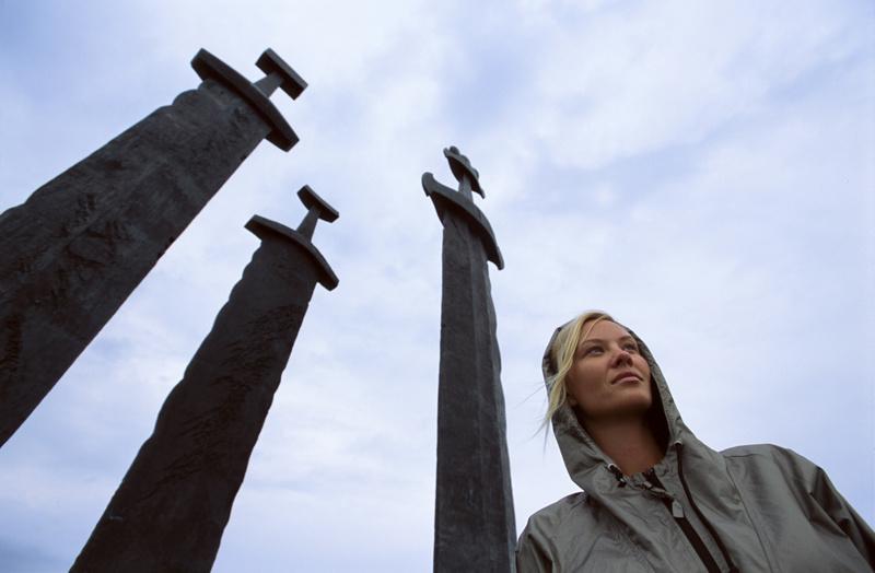 Moje volba: Vikingské meče na ostrově Karmøy