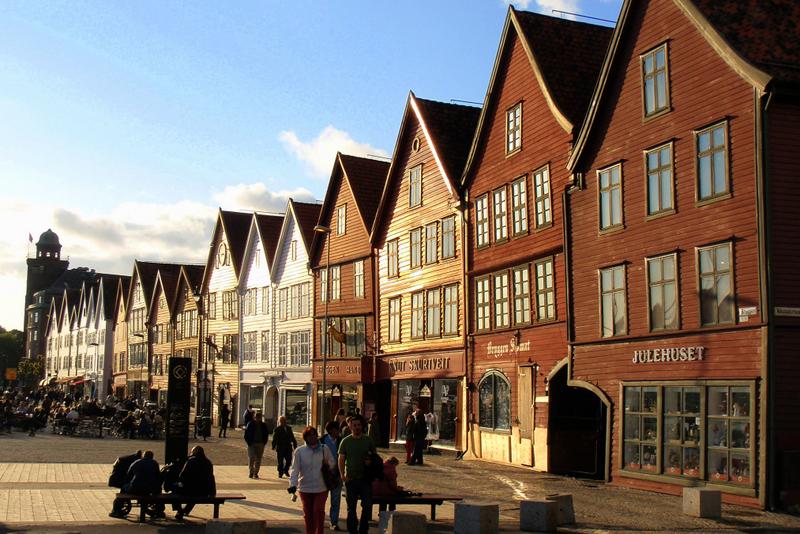 Moje volba: Hanzovní domy Bryggen v Bergenu