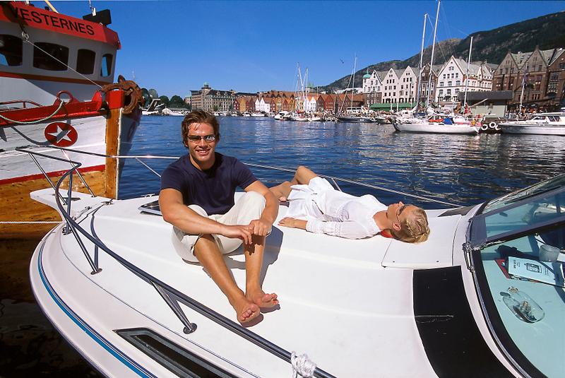 Přístav v Bergenu (57 body)