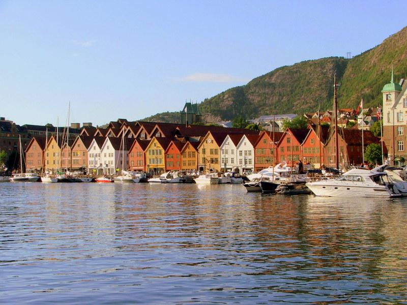 Bryggen - hanzovní domy pod ochranou UNESCO (131 body)