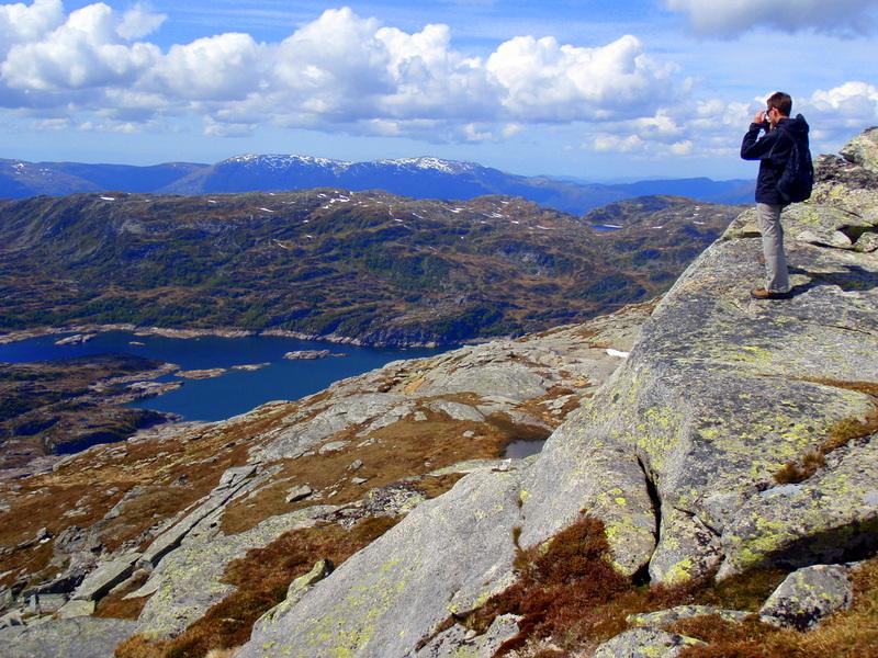 Vyhlídka z vrcholu Otanosa nedaleko Bergenu (127 body)