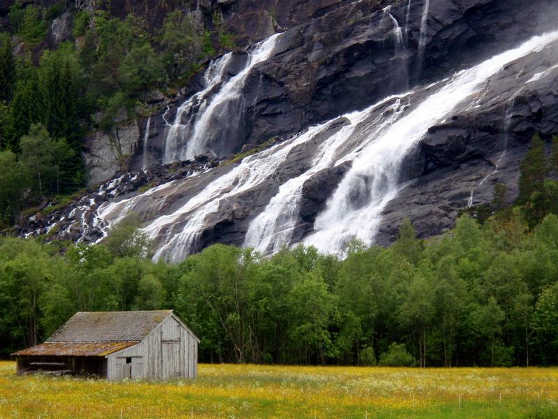Moje volba: Vodopády u Bergenu
