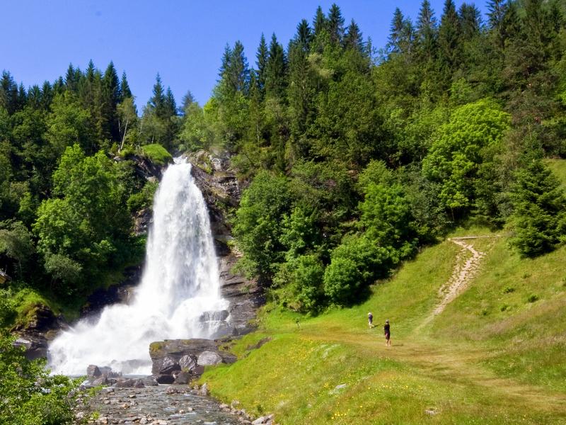 Moje volba: Vodopád Steinsdalsfossen