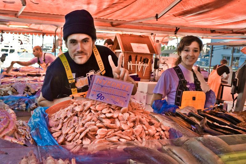 Moje volba: Rybí trh v Bergenu