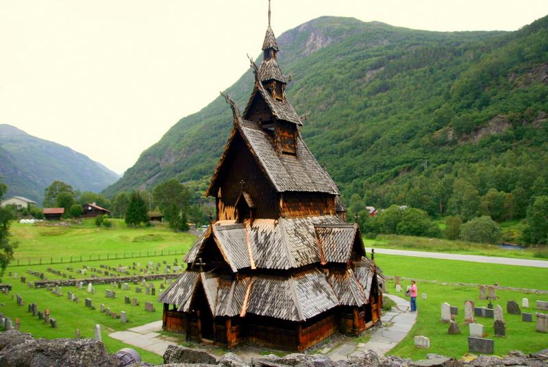 Moje volba: Sloupový kostel Borgund