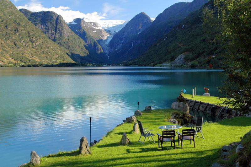 Moje volba: Kavárenská pohoda u fjordu