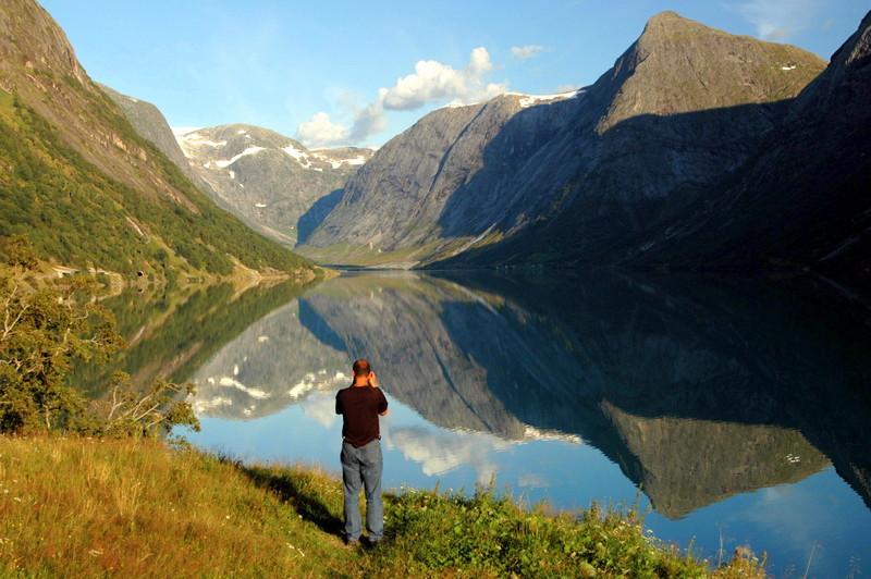 Moje volba: Dokonalé odrazy ve fjordech
