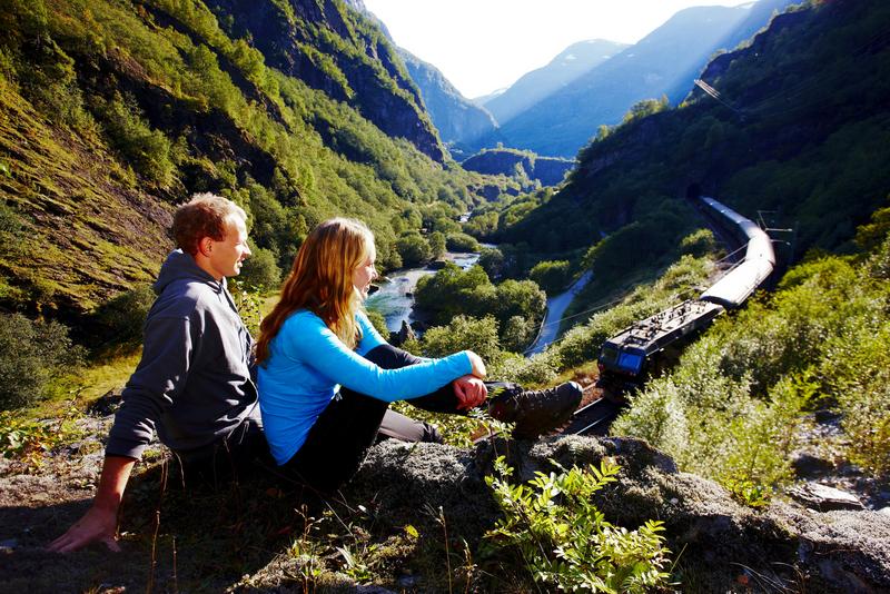 Moje volba: Slavná horská železnice Flåmsbanen