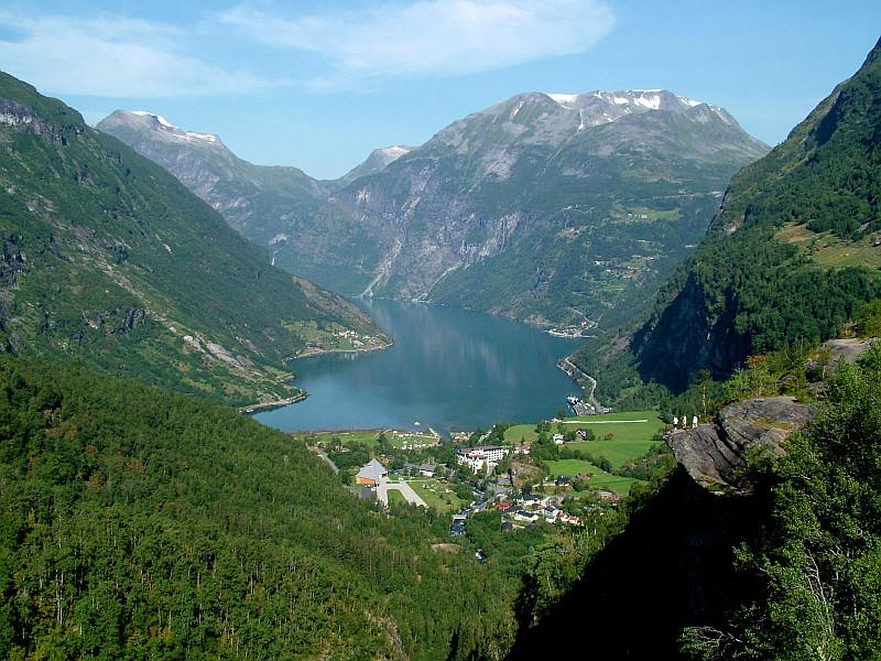 Moje volba: Fjord Geiranger