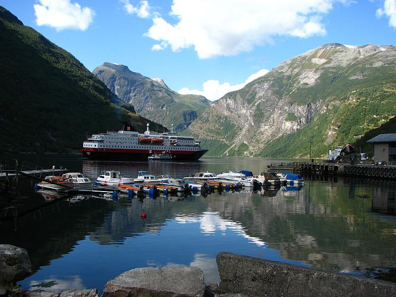 Moje volba: Geiranger - přístav