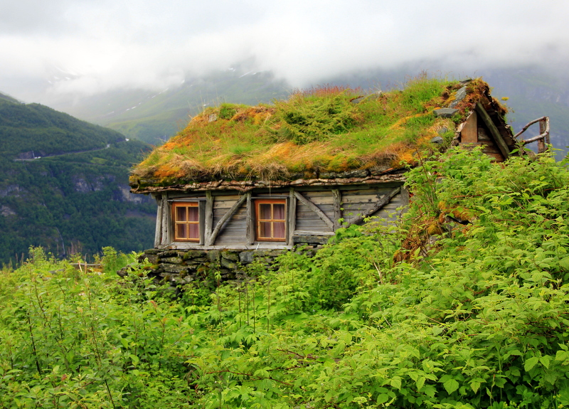 Moje volba: Chata Homlongsetra nad fjordem Geiranger