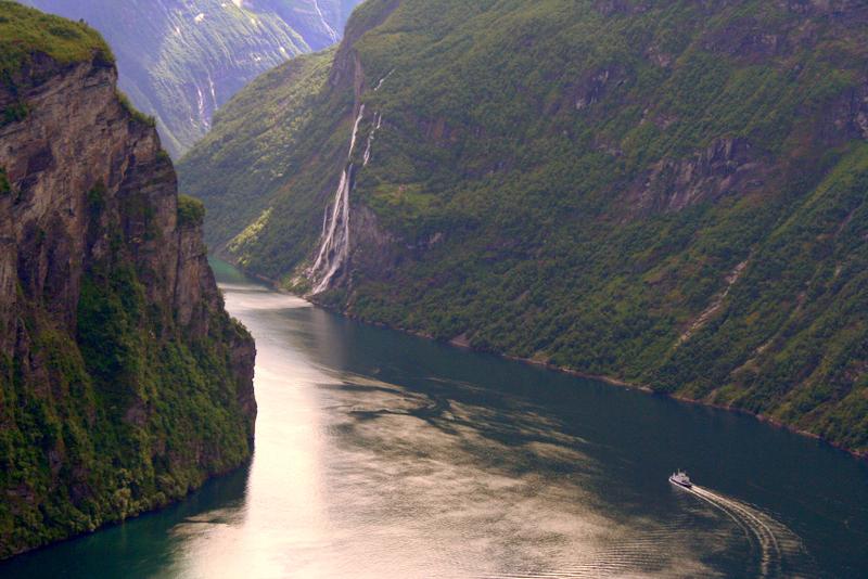 Moje volba: Výletní plavba po fjordu Geiranger
