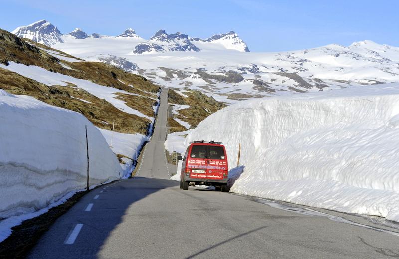 Moje volba: Horské cesty  u fjordů začátem léta