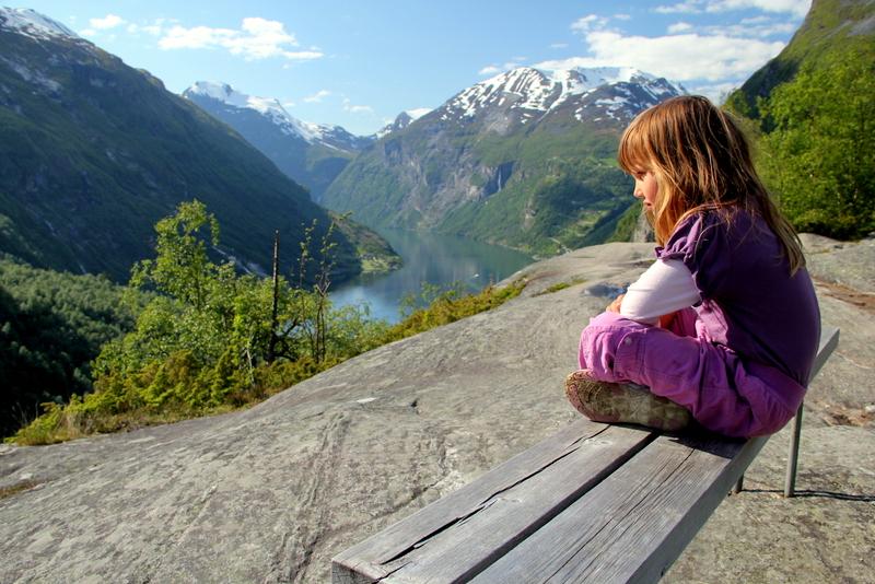 Moje volba: Vyhlídka na Geirangerfjord