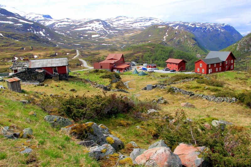 Moje volba: Horská chata Turtagrø