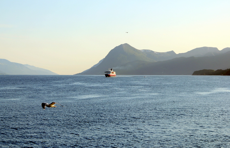 Moje volba: Lodná linka Hurtigruten připlouvá do Molde