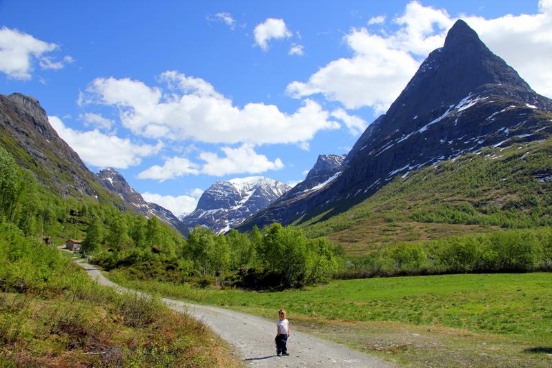 Moje volba: Malý turista v údolí Innerdalen
