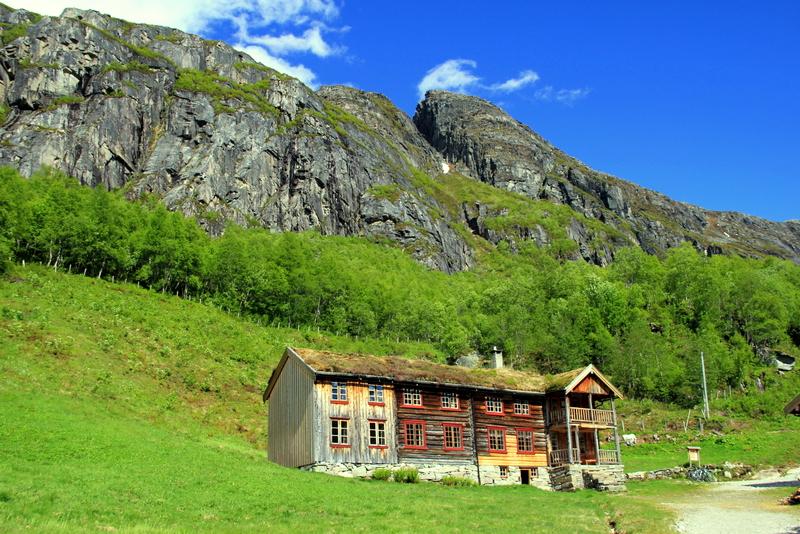 Moje volba: Turistická chata v údolí Innerdalen