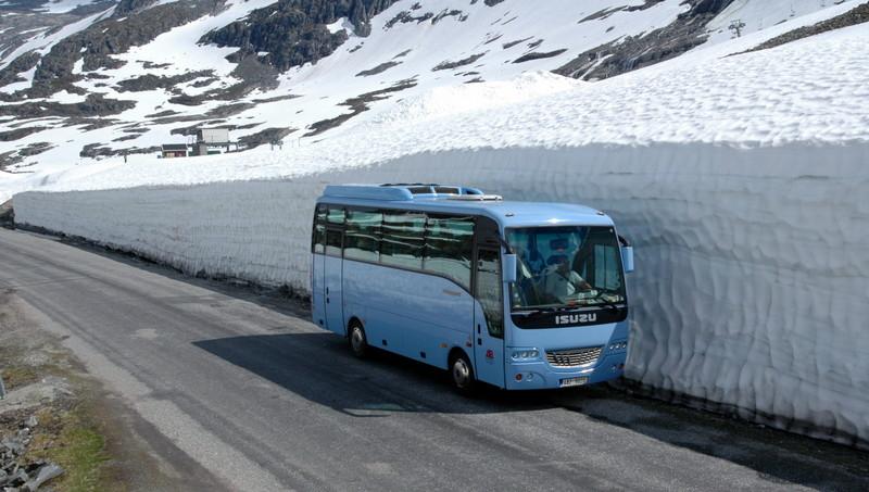 Moje volba: Cesty v NP Jottunheimen na začátku sezony