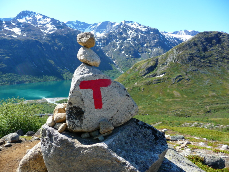 Moje volba: Značení turistických cest v Norsku