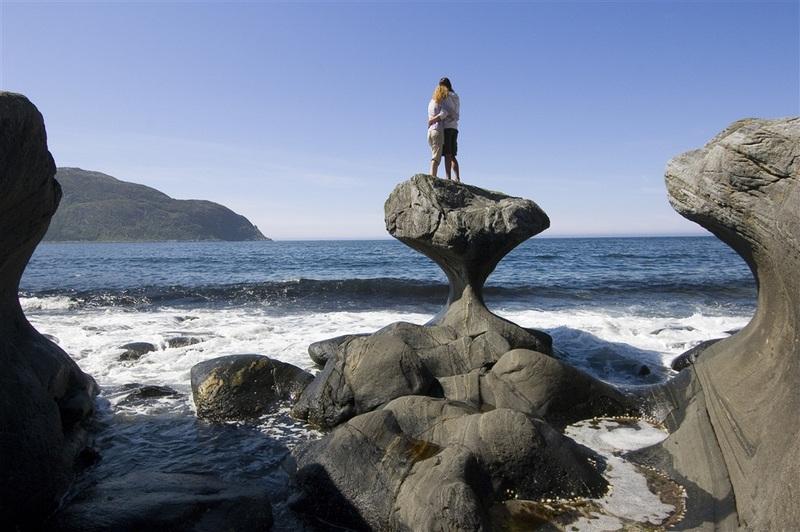 Kannenstein - skalní útvar na ostrově Vågsøy (152 body)