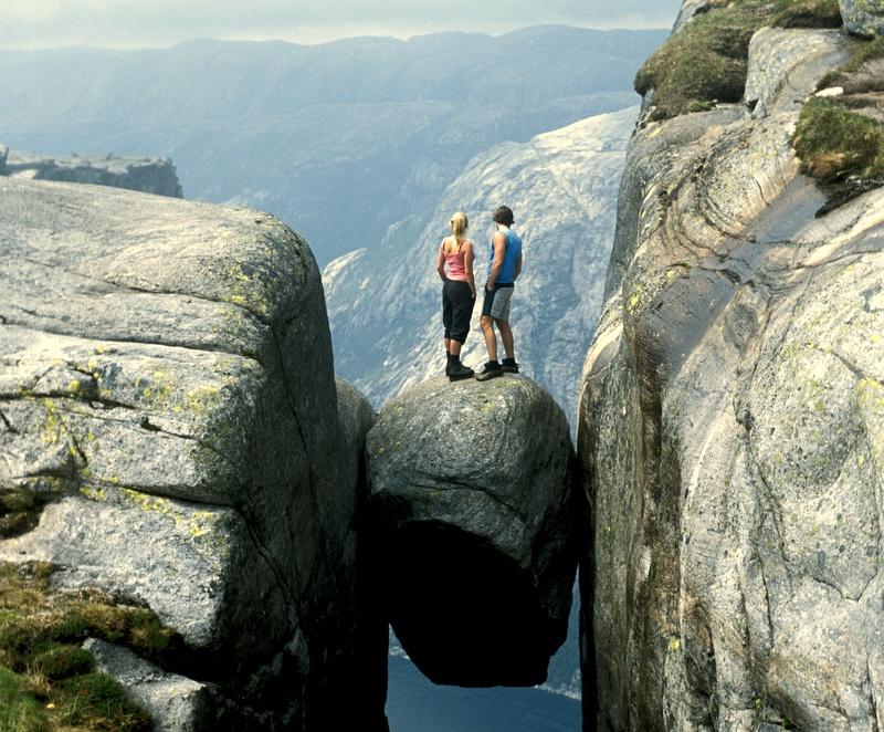 Moje volba: Na slavném Kjeragu nad Lysefjordem