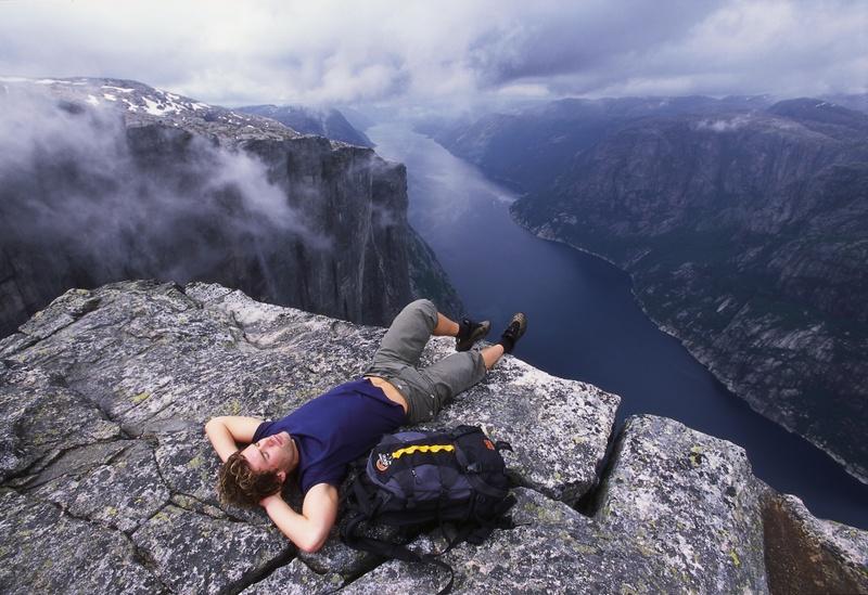 Moje volba: Mt. Kjerag nad Lysefjordem