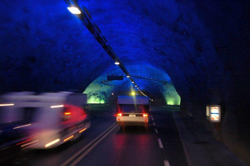 Moje volba: Nejdelší cestní tunel světa - Lærdalstunnelen