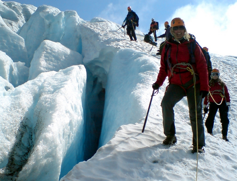 Moje volba: Na ledovci Folgefonna