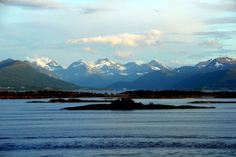 Moje volba: Romsdalské Alpy u Molde