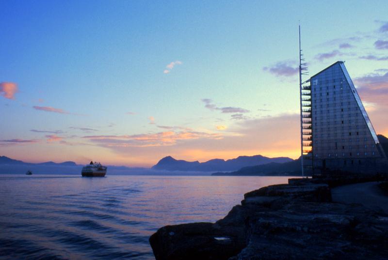 Moje volba: Rica Seilet Hotel s lodní linkou Hurtigruten