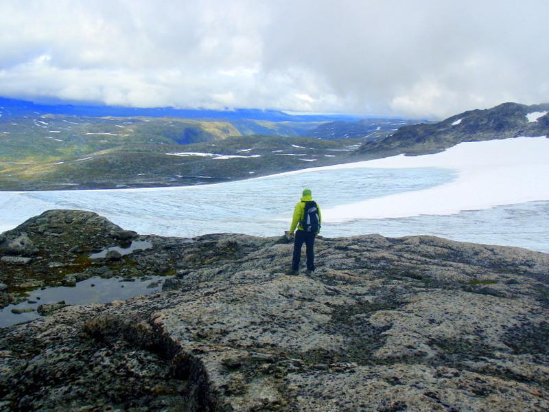 Moje volba: Nad ledovcem Hardangerjøkulen