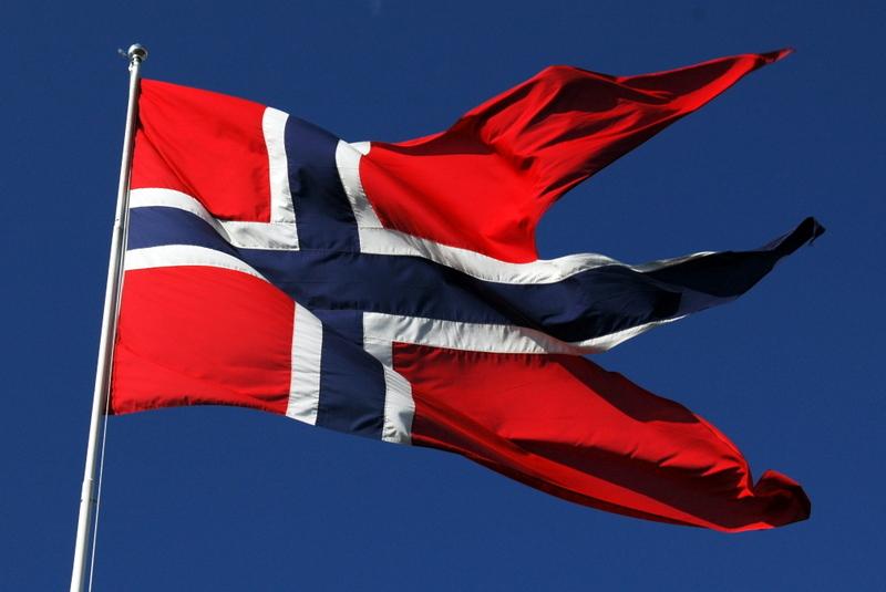 Moje volba: Norská vlajka
