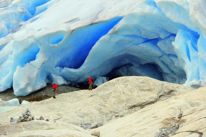 Moje volba: V čele ledovce Nygardsbreen