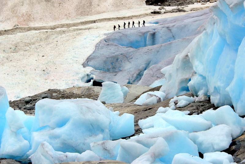 Moje volba: Na ledovci Nygardsbreen