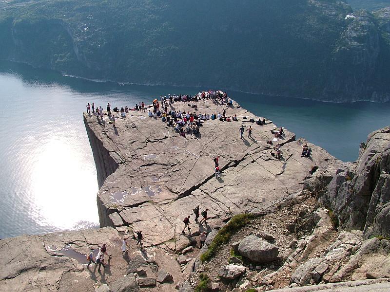 Moje volba: Preikestolen - pohled z výšky na neuvěřitelný skalní útvar