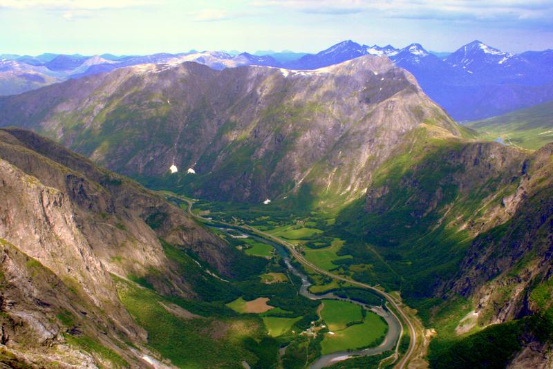 Moje volba: Údolí Romsdalen