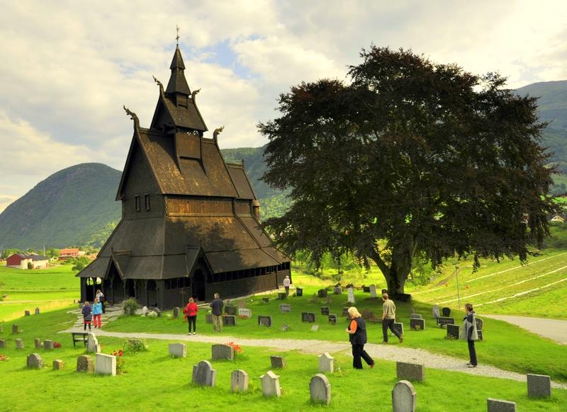 Moje volba: Hopperstad stavkirke - sloupový kostel u Víku