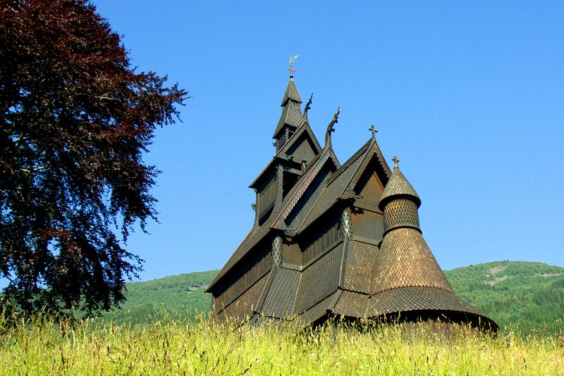 Moje volba: Sloupový kostel Hopperstad